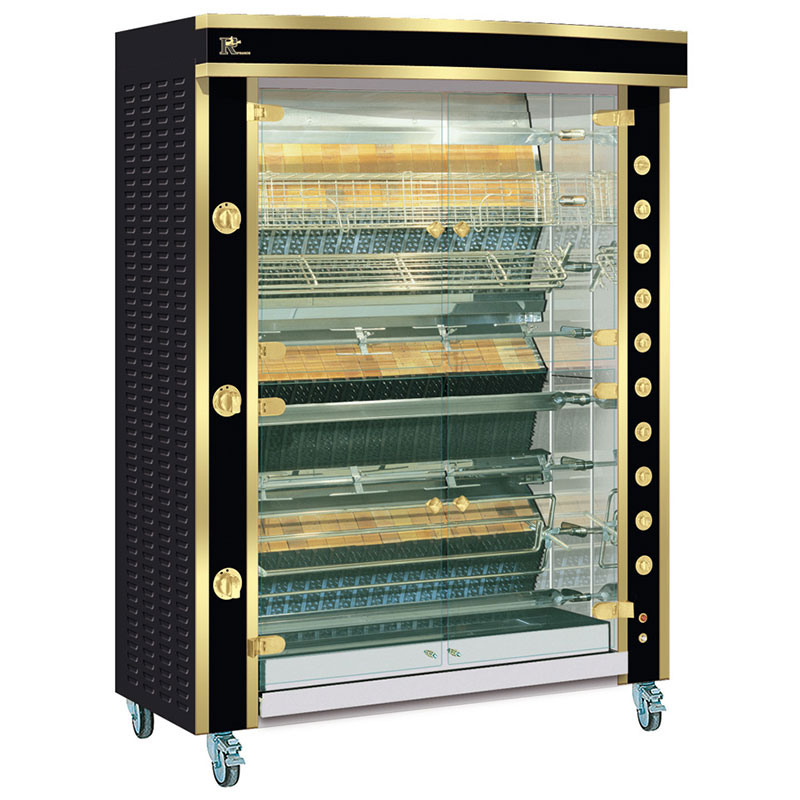 Rotisserie 1375.8MLG black and brass