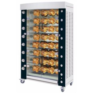 Rotisol Rotisserie Performance 1160 8P Black and Chrome