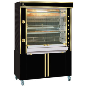 Rotisserie 1375.5MLG black and brass