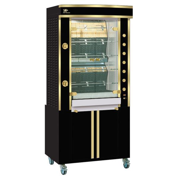 Rotisserie 975.5MLG black and brass