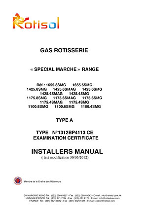 INSTALLATION & USER MANUAL – ELECTRIC